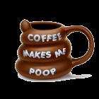 Coffee Makes Me Poop Mug product photo