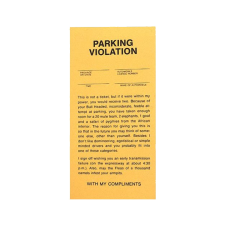 Fake Parking Tickets product photo