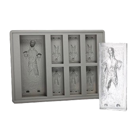 Han Solo in Carbonite Ice Tray product photo