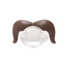 Mustache Pacifiers product photo