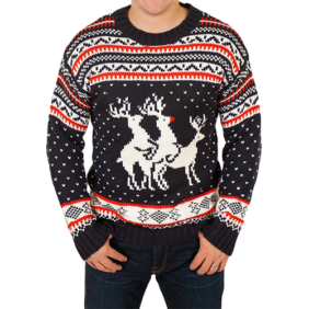 Reindeer Threesome Sweater product photo