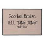 Ding Dong Door Mat product photo