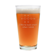 I Like To Look Smart When I Drink product photo